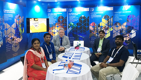 The TWI team at NDE 2019